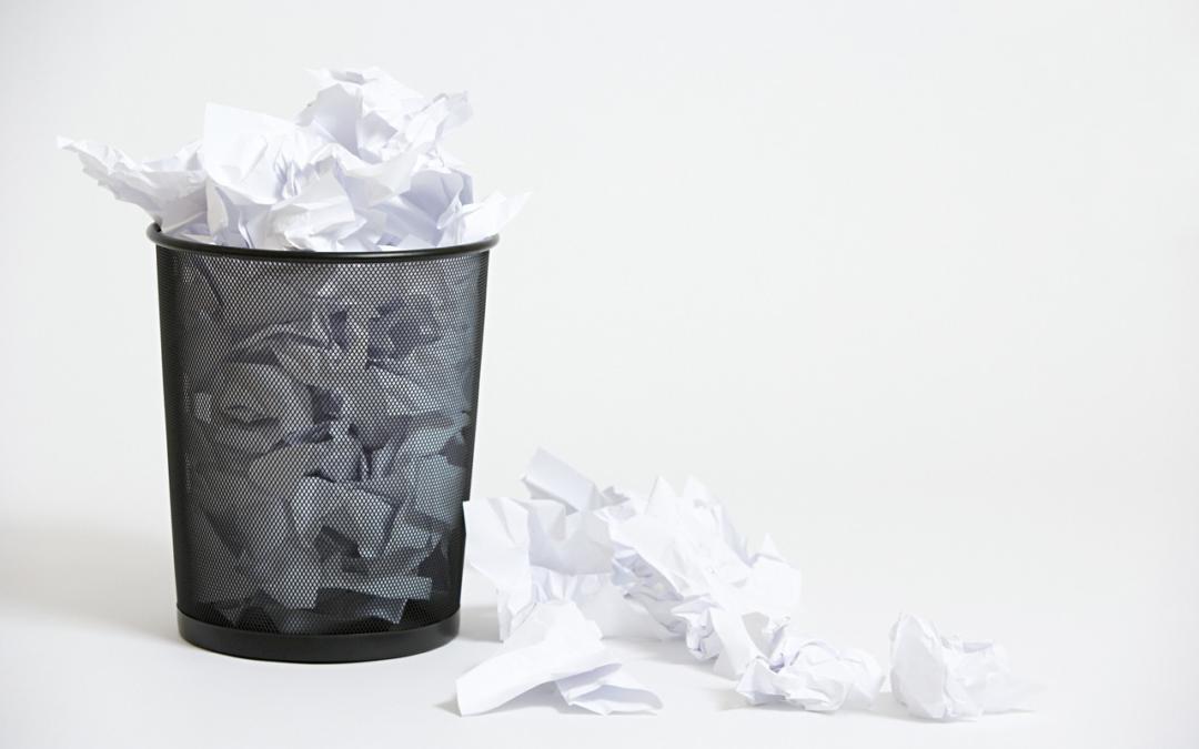 5 manieren om je offerte in de prullenbak te laten verdwijnen. Met tips om dat te voorkomen.