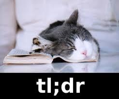 TL;DR!